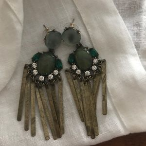 Anthropologie Florian Fringe Earrings